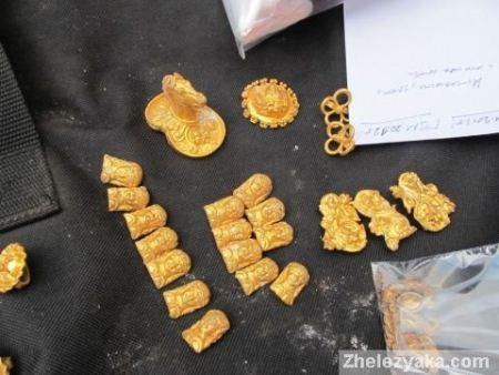 Сокровища гетов обнаружены в Болгарии
