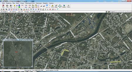 Спутниковая карта Харькова с подписями улиц и номерами домов скачать