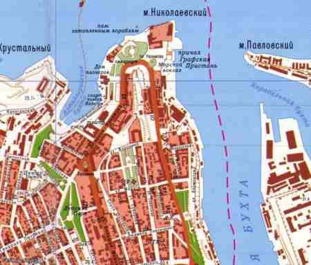 Карта Севастополя для Ozi (2007,1:15000)