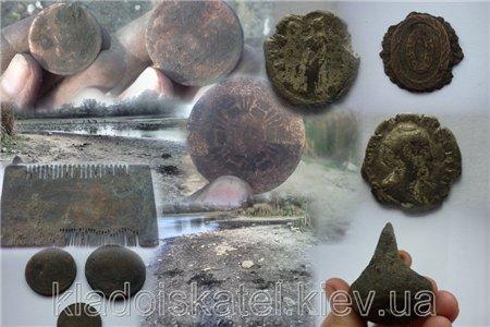 Осеннее завершение сезона 2012 или пляжно-черняховский коп (03.10.2012)