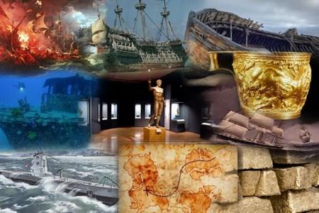 Сказочные богатства, поднятые с морского дна
