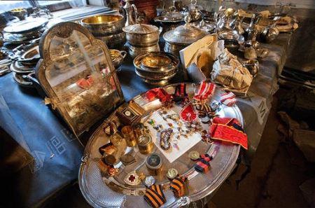 Найденный клад Нарышкиных оценили в €4 млн