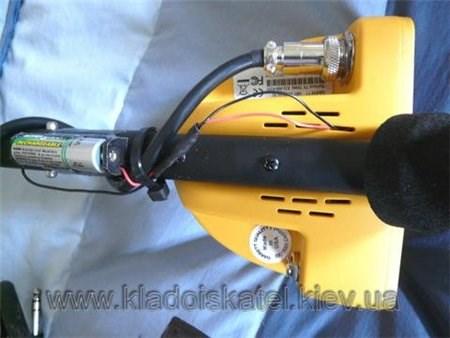 Garrett Ace 250 с дополнительным  аккумулятором
