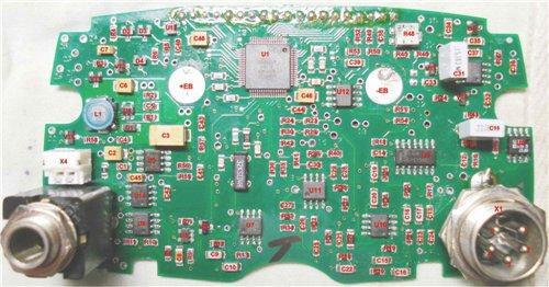 Электрическая схема Garrett ACE 250