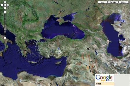 Создание карт из Google Maps  для программы OziExplorer