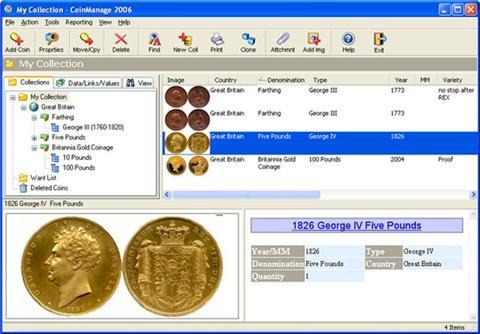 Liberty Street CoinManage 9.0.1.Программа каталог монет