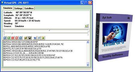 Virtual GPS 1.26 (Полная версия)