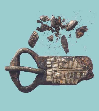 Промывка археологического железа