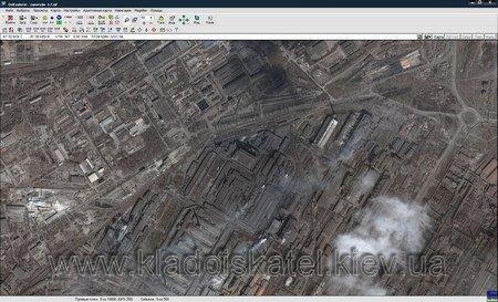 Спутниковая карта Запорожья