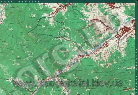 Карты Карпат