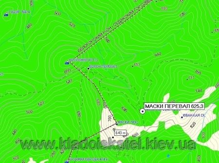 Карта Крыма версия 1.63 от 30.03.2009