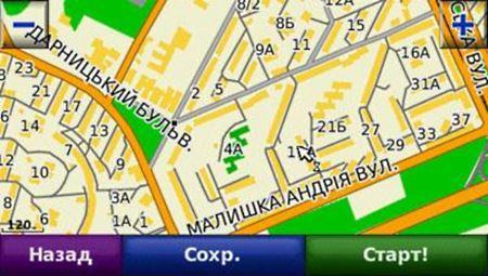 Сборка карт Украины для Garmin