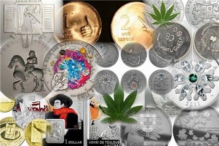Самые странные и необычные монеты мира