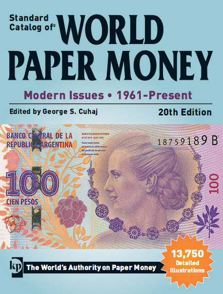 Standard catalog of world paper money Modern Issues 1961 - Present 20th edition