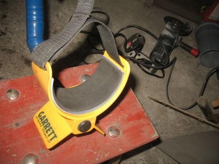Ремонт подлокотника Garrett AСЕ 250 (350) своими руками