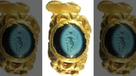 В Британии нашли кольцо с Амуром