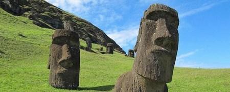 А вы знаете что скрыто под головами на острове Пасхи?