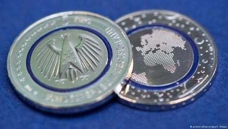 В Германии выпустили монету номиналом 5 евро