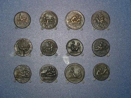 Спинтрии - древнеримские жетоны в публичный дом