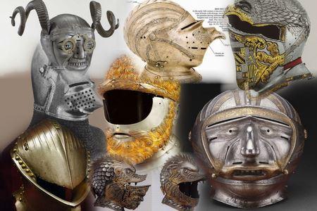5 самых необычных средневековых шлемов