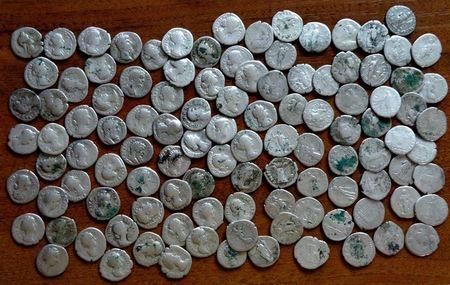 Поширення римської монети на українських землях
