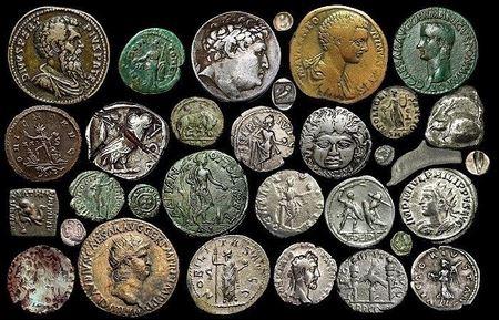 Классификация степеней сохранности античных монет по износу при обращении