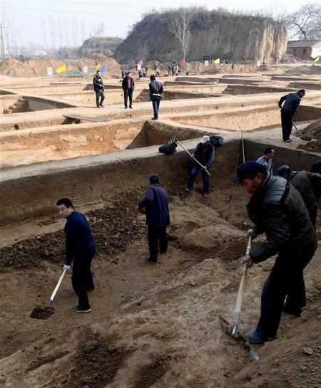 В Китае археологи обнаружили крепостные ворота древнего города