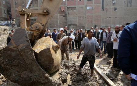 В Египте нашли огромную статую фараона Рамзеса II