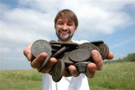 Какие монеты может найти кладоискатель. Советы новичкам