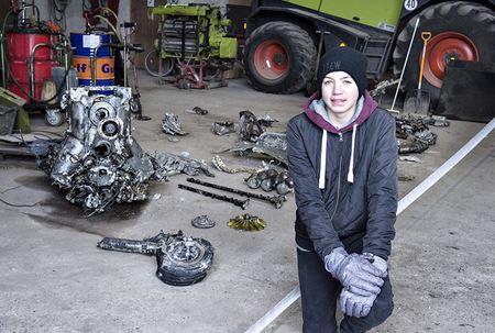 14-летний школьник из Дании случайно обнаружил немецкий самолет времен ВОВ