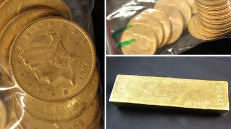 100 килограммов золота в унаследованном доме