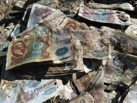 Группа историков нашла миллиард рублей в заброшенной ракетной шахте