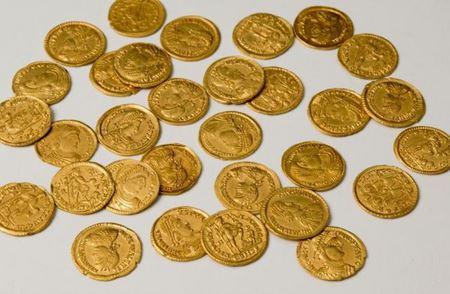 В Нидерландах найдена 41 золотая монета времен Римской империи