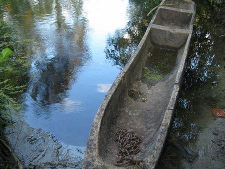 На Полтавщине были обнаружены две необычные лодки