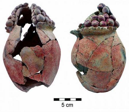 В Иорданской долине археологи нашли 7200-летний сосуд