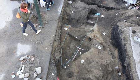 В Норвегии обнаружено захоронение в погребальном драккаре