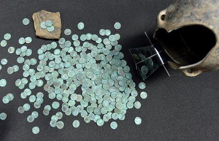 Это самый крупный клад римских монет из тех, что были найдены в северной Англии