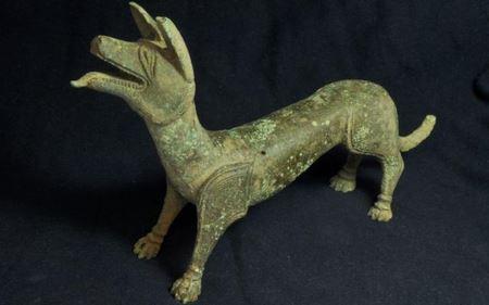 В Британии обнаружена древняя статуэтка собаки