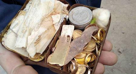 Клад еврейского узника нашли в Гродно