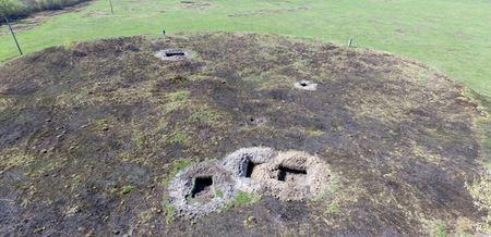 Под Киевом вандалы раскопали городище времен Киевской Руси