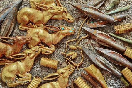 В Казахстане обнаружены древнейшие сокровища сакской эпохи