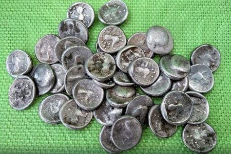 В Словакии нашли клад кельтских монет